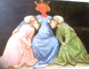Va alla voce SAPIENZA  Miniatura del sec.XV in enc. simboli