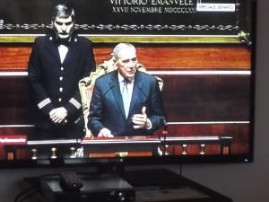 PRESIDENTE del Senato Grasso
